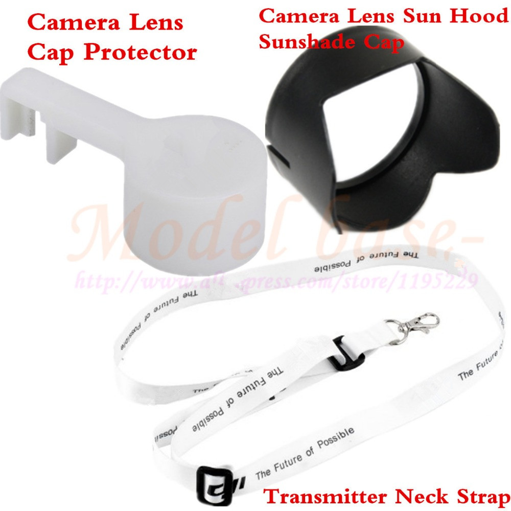 DJI Phantom 3 Professional Advanced Camera Lens Cover Cap Camera Lens Sun Hood Sunshade Cap Transmitter