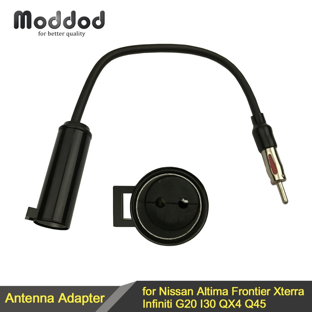 For Nissan Altima Frontier Xterra Infiniti G20 I30 QX4 Q45 Car Radio Antenna Aerial Adaptor Converter Connector цена