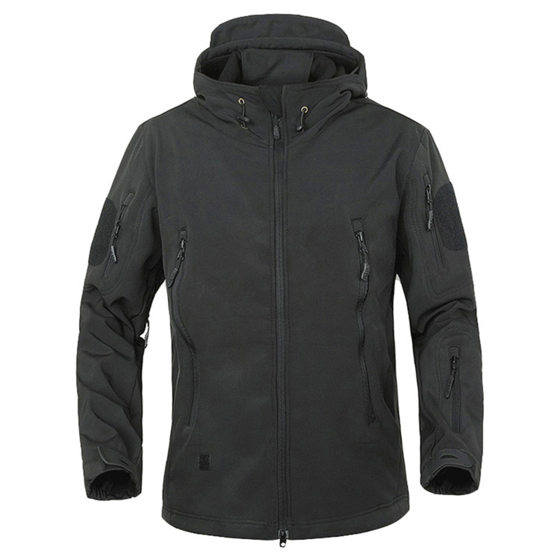 2018 TAD зимняя куртка из кожи акулы, военная ветрозащитная тактическая куртка софтшелл, Мужская водонепроницаемая армейская мягкая куртка, ветровка от дождя