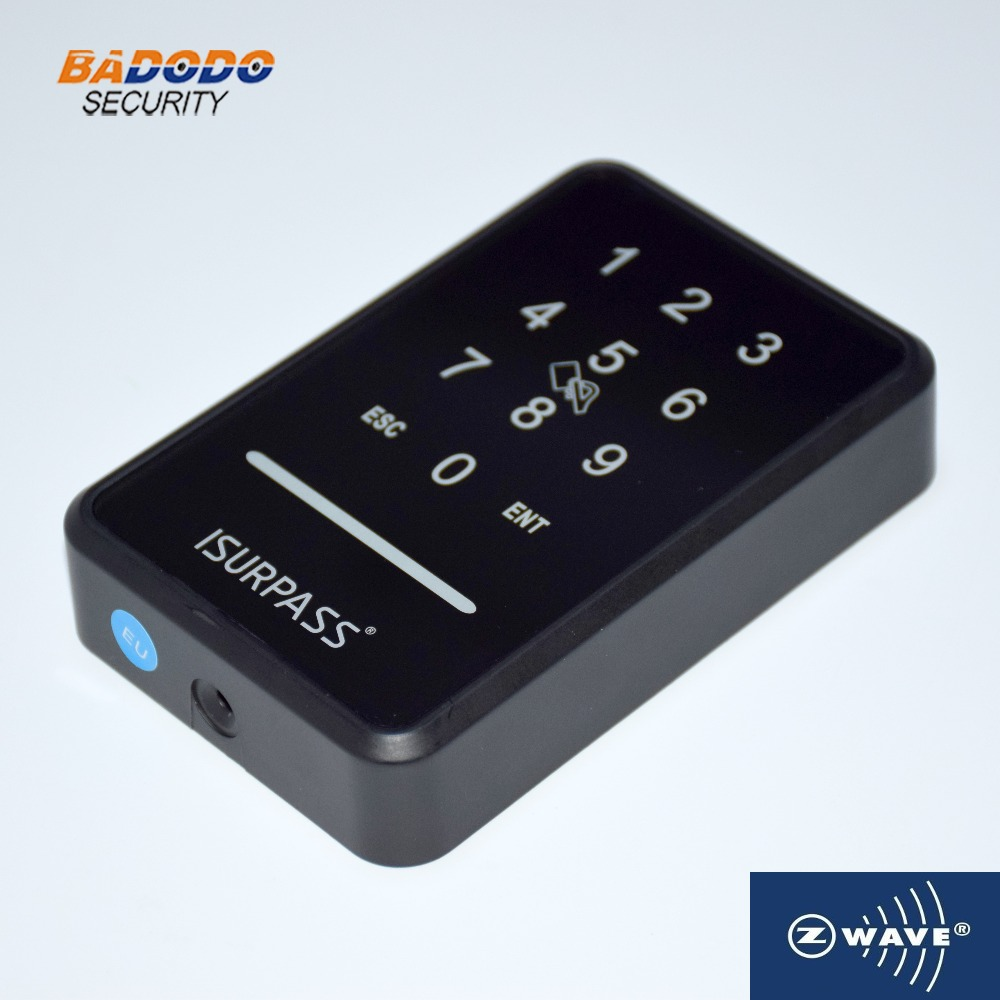 Z wave wireless remote control IC card reader touch panel access controller for home office access