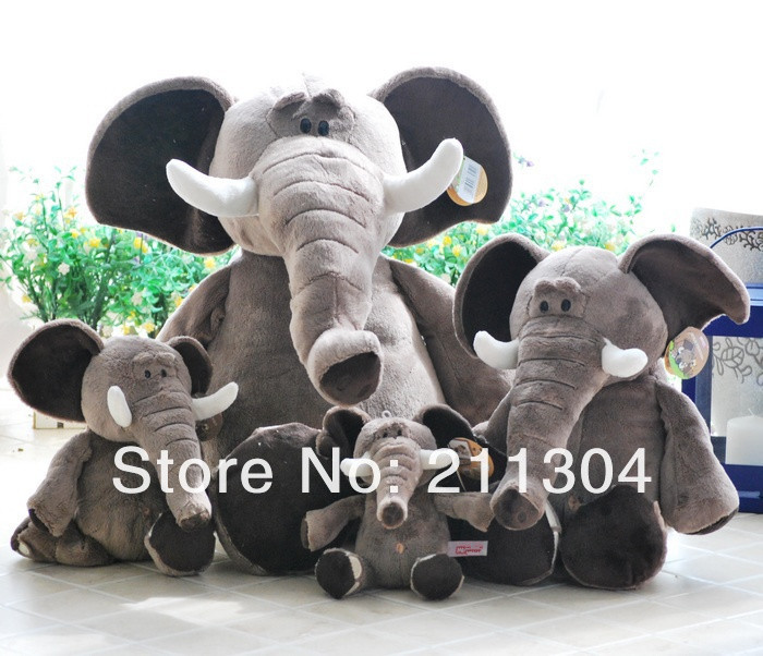 Size XL - Free Shipping Nice High Quality Elephant Stuffed Plush Toys 70cm Doll ci Children Christmas Birthday Gifts fancytrader new style giant plush stuffed kids toys lovely rubber duck 39 100cm yellow rubber duck free shipping ft90122