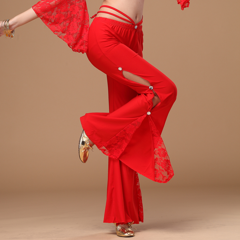 2016 Promotion Sale Bellydance Costume Dancewear Square Belly Dance Pants Professional Trousers Dancing For Women K02