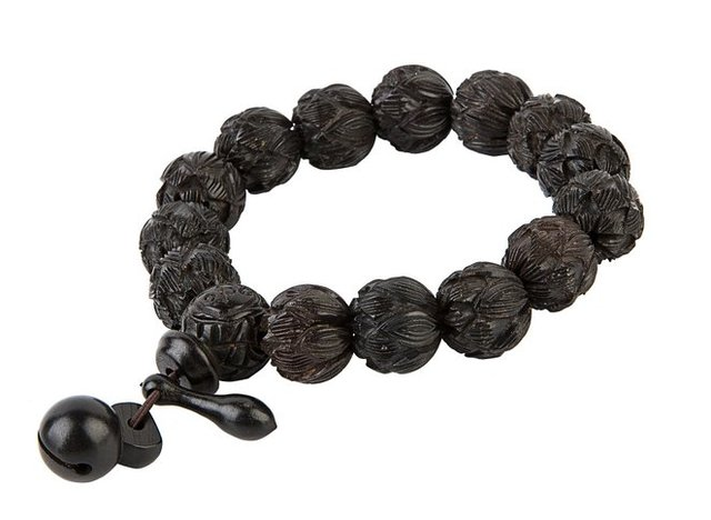 Brand Hand Carved Tibetan Buddhist Prayer Bracelet  13mm