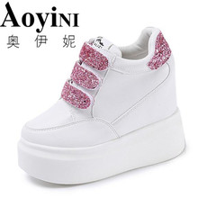 Fashion Style PU Leather Women Casual Shoes