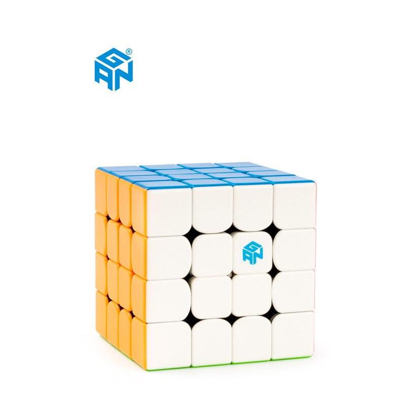 GAN460M magnétique Non autocollant professionnel Cube magique Puzzle Cube jouet GAN 460 M compétition vitesse Puzzle Cube jouets pour enfants