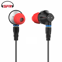 SENFER DT6 1BA+1DD+Ceramic Piezoelectric Hybrid 3 Drive Unit In Ear Earphone HIFI DJ Metal Earphone With Detachable Detach MMCX