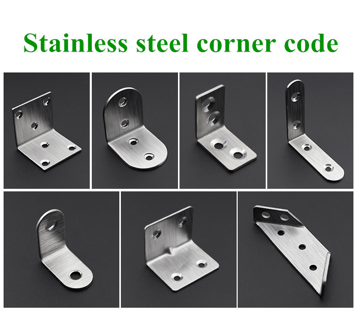 Furniture Flat Angle Corner Connector Furniture Straight Piece Connector Table/chair/wardrobe/board Fixed Fastener Furniture Accessories Up-To-Date Styling