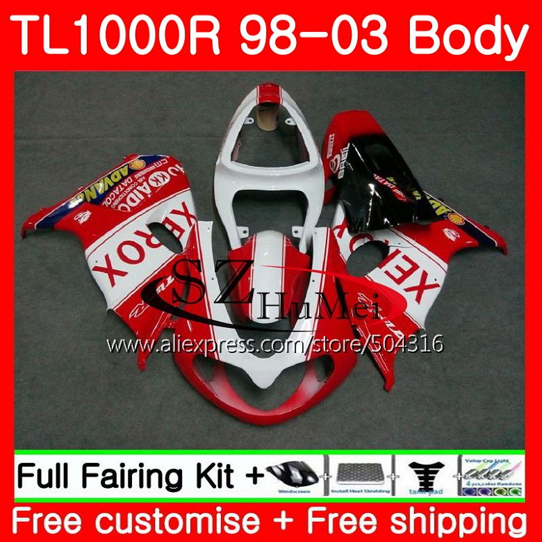 Automobiles & Motorcycles Bright Body For Suzuki Tl1000 R Tl 1000 R Tl1000r 98 99 00 01 02 03 Red White 41sh10 Tl 1000r 1998 1999 2000 2001 2002 2003 Fairings Protective Gear