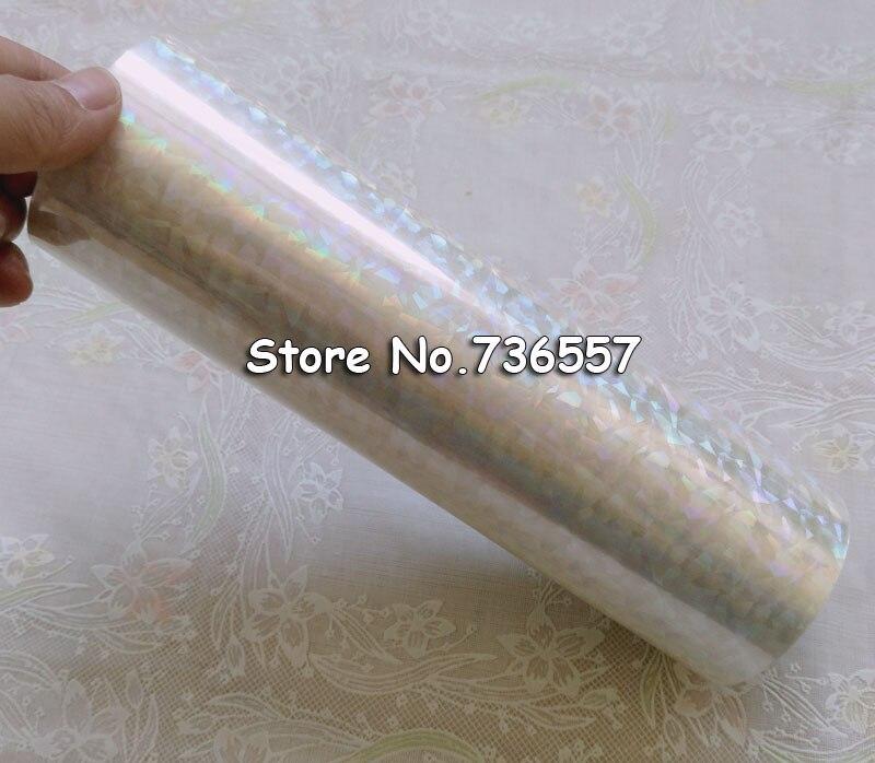 Badge Holder e Acessórios de carimbo quente para o Modelo Número : Holographic Foil Transparent Foil