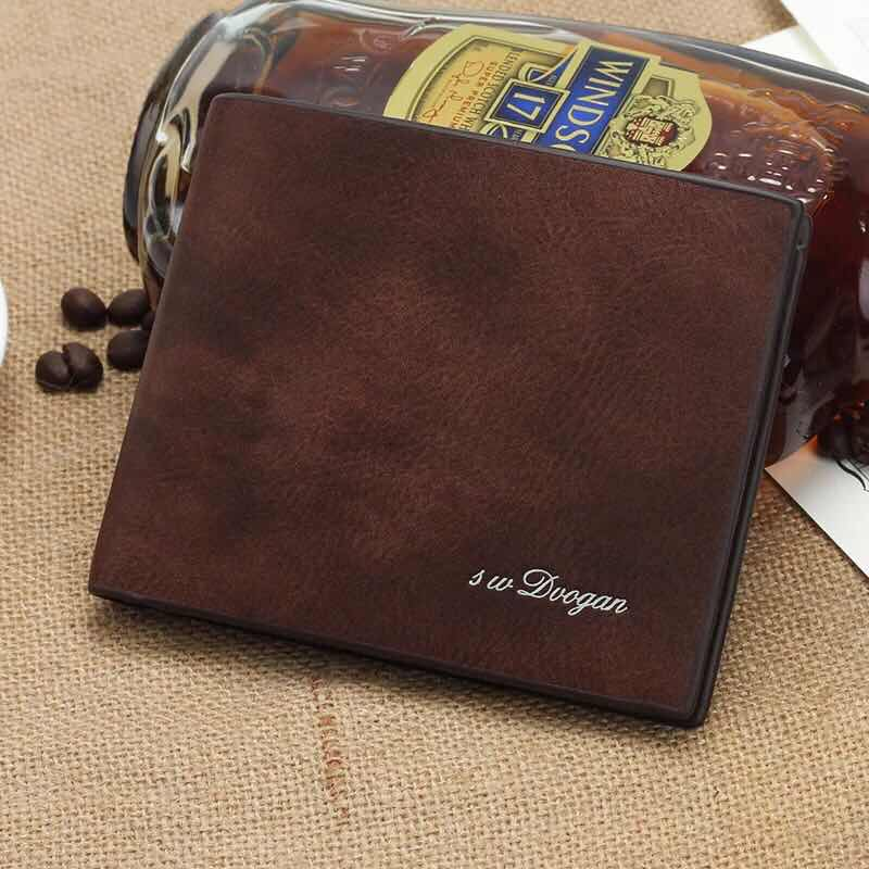 Short, Coin, Students, Wallet, Vintage, Leather