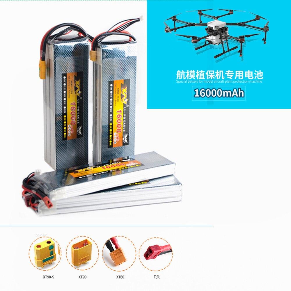 16000 mah 22.2 V 25C Max 50C Lipo Drone FPV Batteria Per Quadcopter Elicotteri RC Modelli Li polymer-in Componenti e accessori da Giocattoli e hobby su  Gruppo 1