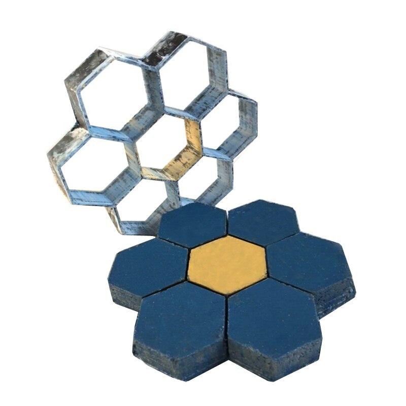 Größe 30*30 Garten und wand dekoriert werkzeuge form für beton DIY Stein kunststoff form wege pflaster form