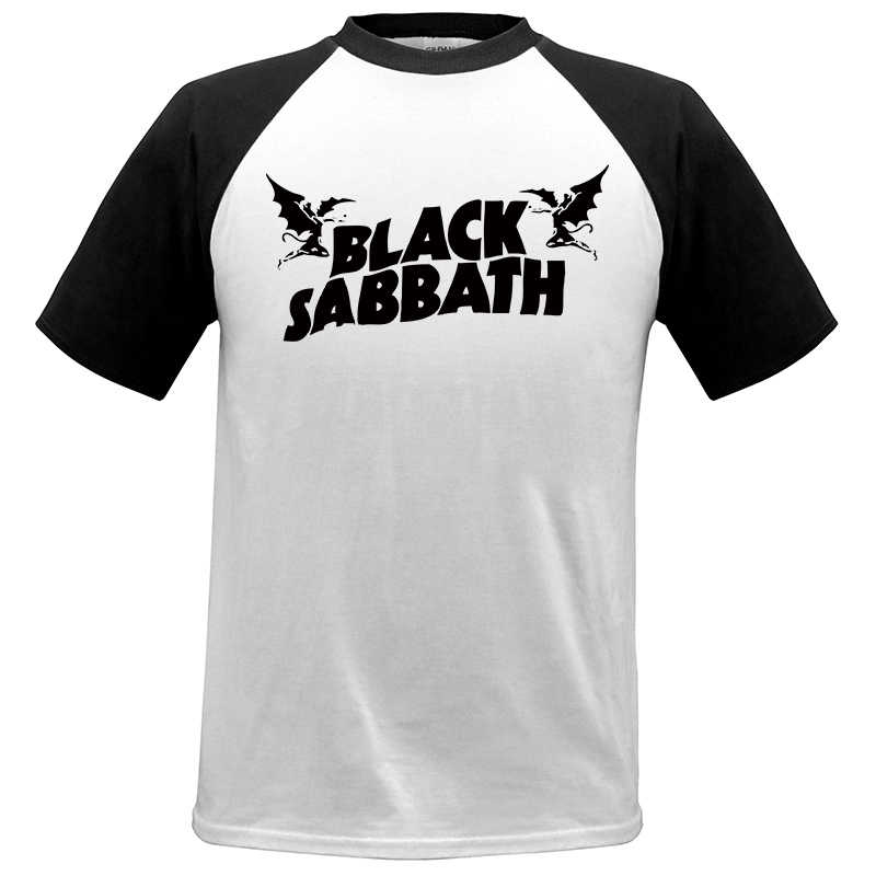 bf9f91c8309ee Detail Feedback Questions about Cool Great T shirt Mens Black Sabbath US  Tour Heavy Metal Men cozy T Shirt raglan Sleeve Crewneck Cotton Group Tops  Tee  02 ...