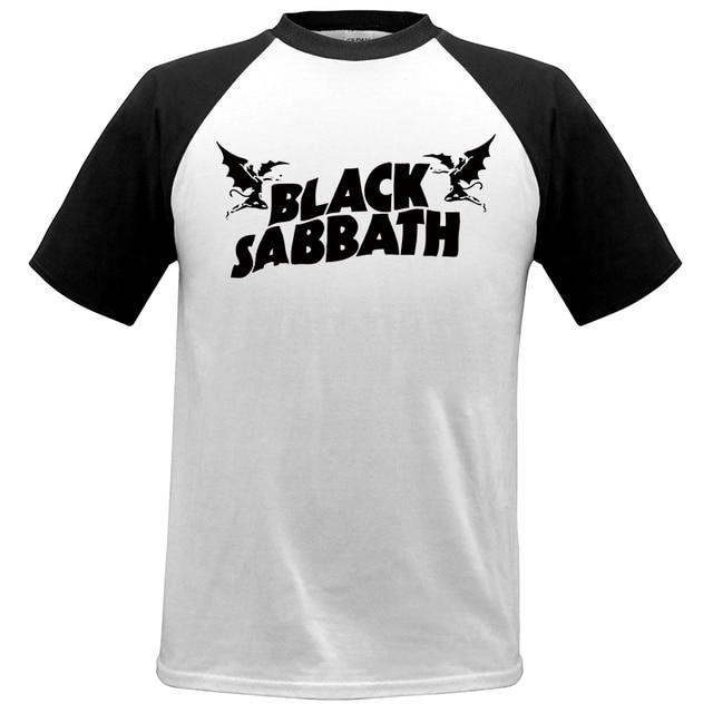 Cool Great T-shirt Mens Black Sabbath US Tour Heavy Metal Men cozy T Shirt  raglan Sleeve Crewneck Cotton Group Tops Tee  02 37df31c886bba