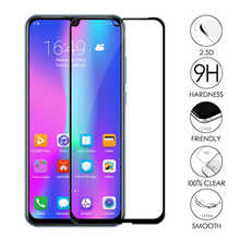 XINDIMAN 3D Full Glass on for huawei honor10 honor10i protector 9H 2.5D Black cover lite tempered glass