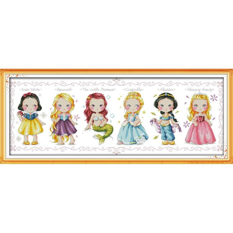 ✓Envío gratis La princesa contados cross stitch 11ct 14ct cross ...