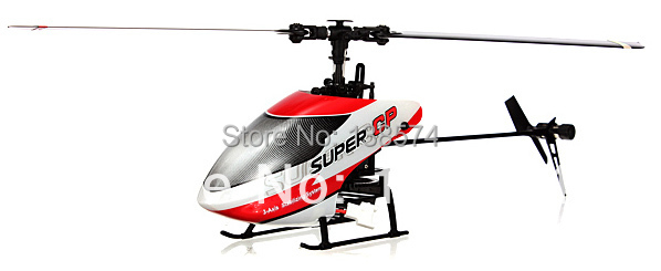 2014 Walkera NEW Super CP Flybarless 6CH 3D 3G RC Helicopter BNF no transmitter