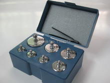 Calibration Weight 7PCS/Set 200g 100g 50g 20g 10g 5g Grams Jewelry Scale Weight Set 500g High Precision Calibration