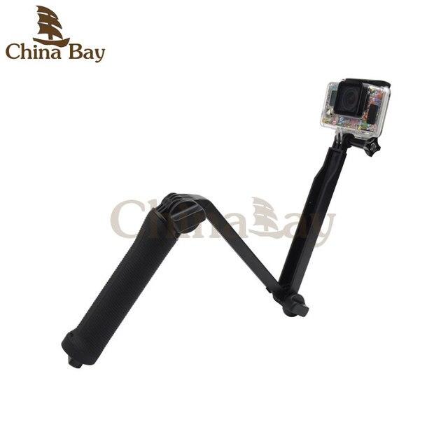 3 Manier Монопод Крепление Камеры Grip Extension Arm Statief вур для eken h9/h8 h9r/h8r Gopro Hero 4 2 3 3 + 2 1 SJ4000