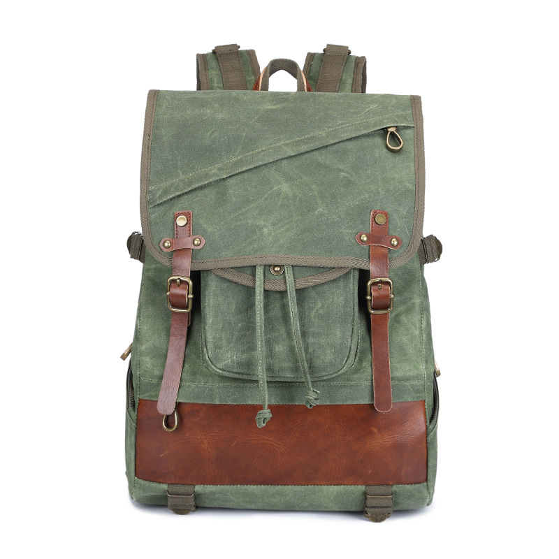 Man's Canvas Backpack Travel School Bag Male Backpack Men Waterproof Large Capacity Rucksack Shoulder School Bag Mochila Escolar стоимость