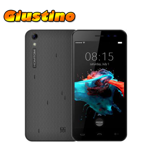 Original Homtom HT16  Android 6.0 5 Inch 1GB RAM 8GB ROM Quad Core 1280 x 720 MTK6580 1.3GHz 3000mAh 8.0MP Mobile Phone