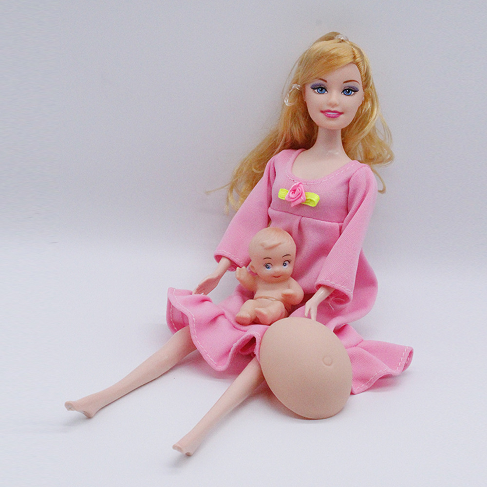 Tanpa Kotak Ritel Warna  Seperti gambar. Ukuran  Ibu doll 11.4 inch (29  cm) cf11cb1500