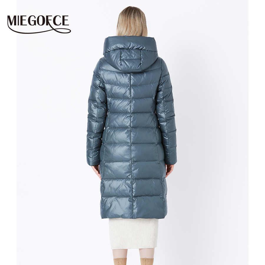 MIEGOFCE 2020 เสื้อแจ็คเก็ตฤดูหนาวผู้หญิงHooded Warm Parkas Bio Fluff Parka Coatคุณภาพสูงหญิงฤดูหนาวใหม่คอลเลกชันร้อน