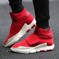 Gancho de Deporte Casual de los hombres Transpirable de Alta Tops Zapatos Para Hombre Con Cordones Zapatos Para Hombres Pisos Tobillo Botas Chaussures Calzado Hombre Homme