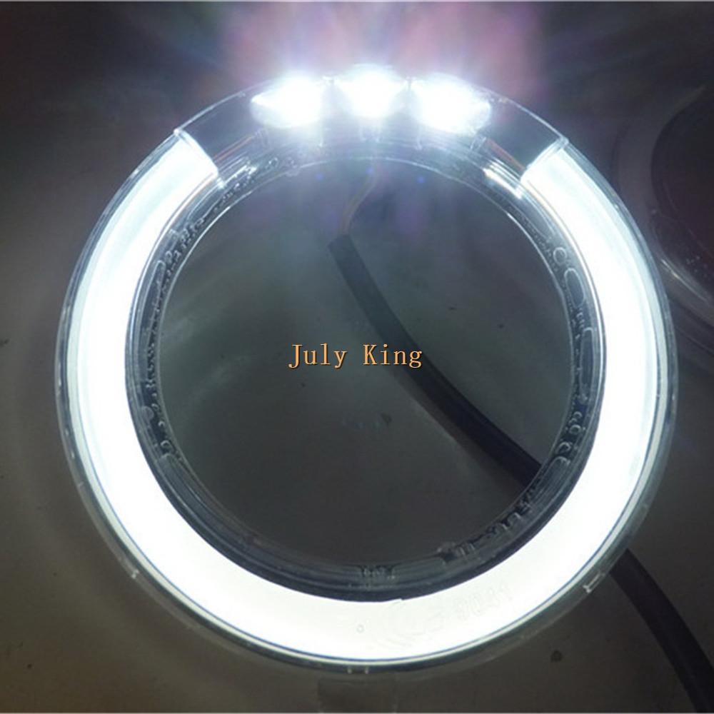 July King LED Light Guide Daytime Running Lights Case for Subaru Forester 2009~13, 3LEDs DRL LED Fog Lamp, 1:1, Free Shipping yeats led daytime running lights drl led fog lamp case for subaru forester 2013 16 deluxe edition 1 1 replacement fast shipping
