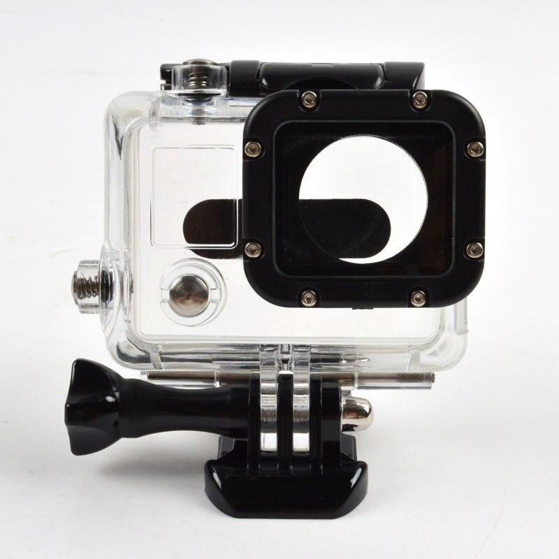 Caméra Accessoires Squelette De Protection de Logement Cas/Couverture avec Lentille pour go pro hero 3 fpv sans ouvert côté gp29 GDeals