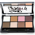 Mate y Shimmer Eyeshadow Palette 1 unids 8 color sombra de ojos Maquillaje S-13