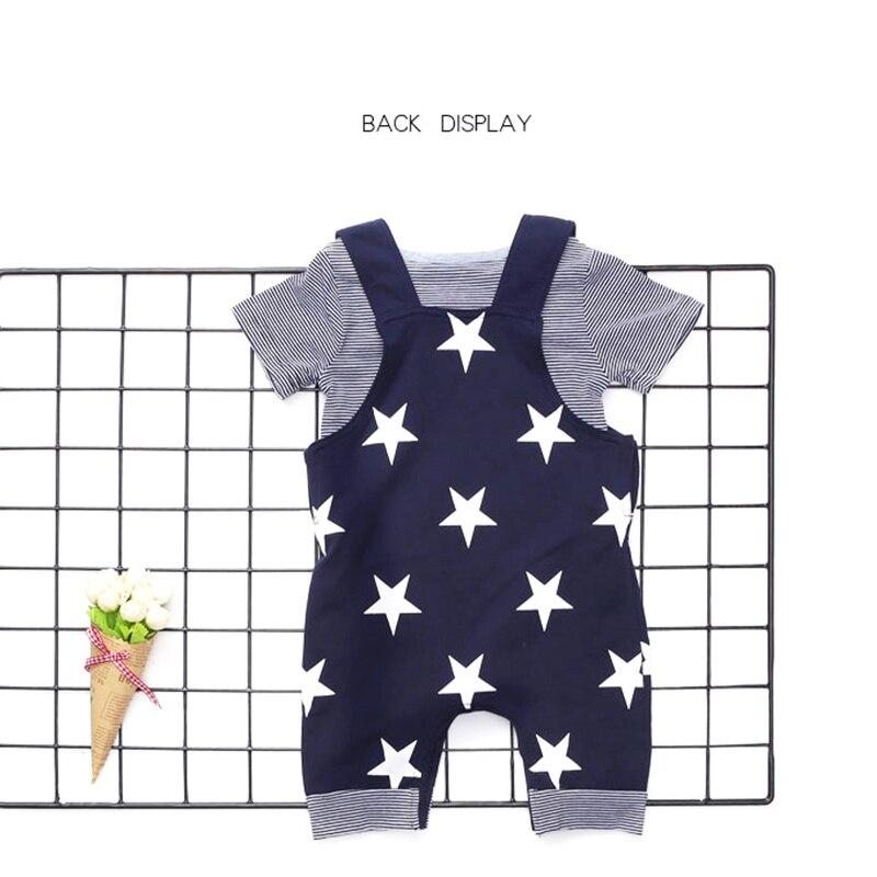 2018 Topkwaliteit baby rompertjes Star Printed Jumpsuit kinderen - Babykleding - Foto 5