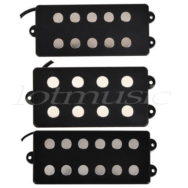 Kmise Verschiedene Schwarz 4 5 6 String Bass Gitarre Pickup ...