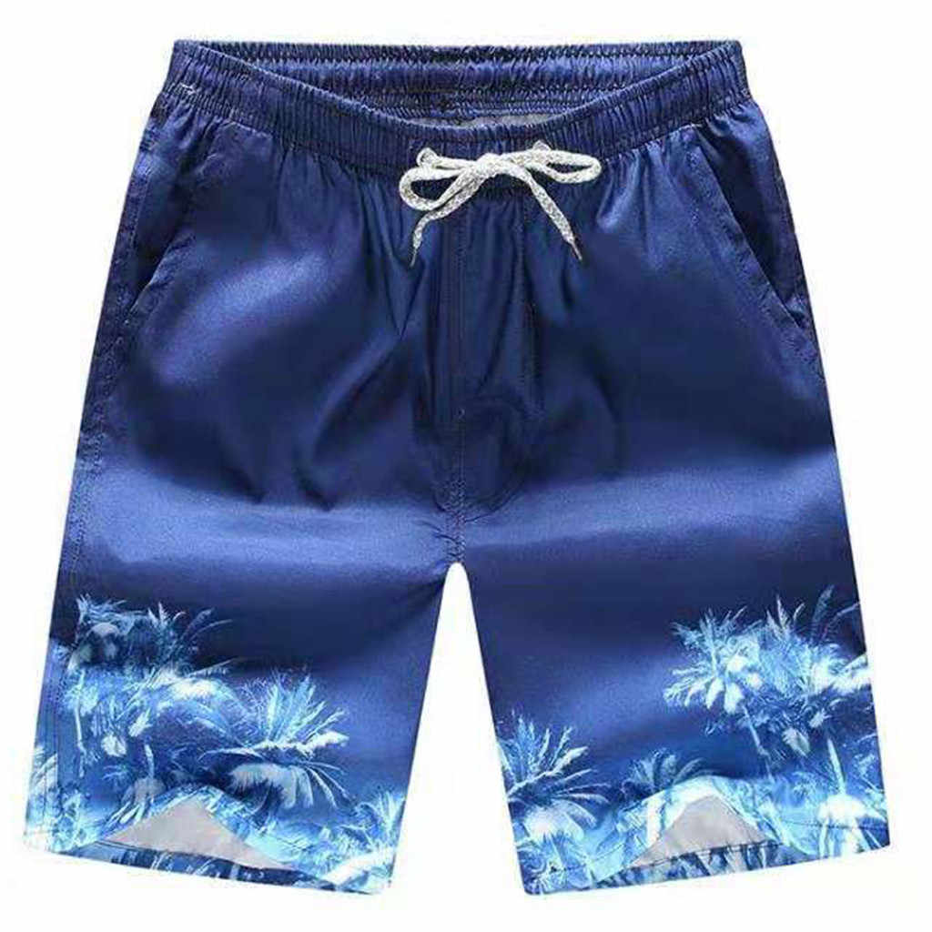 Beach Short Board Surf Mens Swimwear Trunks Fast-drying Men's Color Shorts Swimming Beach Shorts Flower Surfboard Shorts#p4
