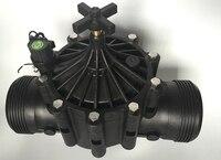 Dn100 4 дюймов электрические орошения воды фиксации электромагнитный клапан для орошения фланцевые
