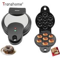 Transhome 2 22kg 700 950W Donut Machine Doughnuts Maker 7 Donuts Maker Commercial Electric Non Stick