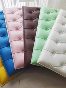 Wall-Sticker Tiles KTV Self-Adhesive 3d Foam Home-Decor Kids Room 10pcs Background Soft-Bag