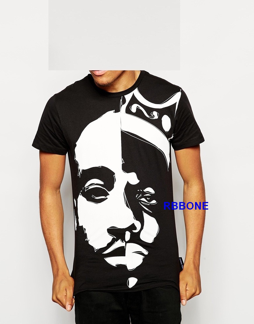 tupac t shirts biggie hoodies graphic tees biggie smalls. Black Bedroom Furniture Sets. Home Design Ideas