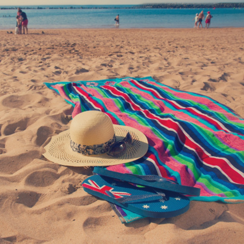 Newest Color Striped Beach Towel Tapestry Chiffon Sunscreen Scarf Rainbow Blanket Soft Drap Mandala Home Decor