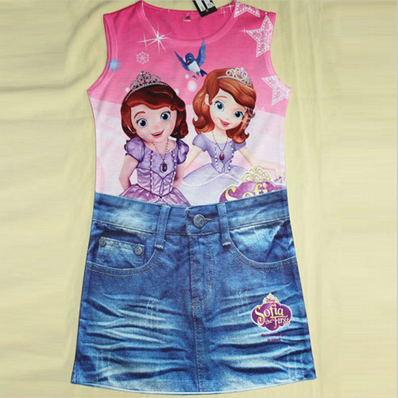 Summer 2015 baby girls party princess dress for toddler girl desses clothing kids clothes casual dress ...