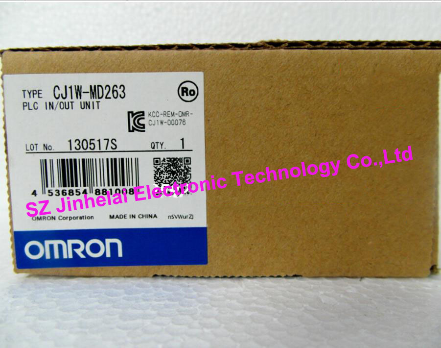 все цены на  New and original  CJ1W-MD261,  CJ1W-MD263  OMRON  PLC INPUT OUTPUT UNIT  онлайн