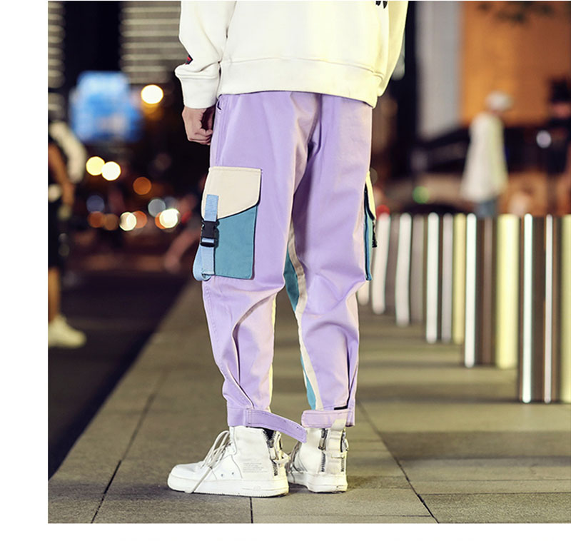 Cool Cargo Pants Men Casual Hip Hop Fashion (20)