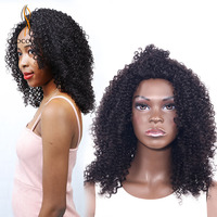 CHOCOLATE Remy Human Hair Curly Wigs Afro Kinky Curly Wigs Short Bob Weave Brazilian Curly Hair Wigs for Black Women
