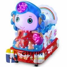 Популярные милые детские красочные светильник маркер, работающие от монет детские качалки цит-KR011B