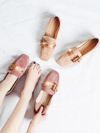 Versión La Salvaje Las Mujer Guisantes Solo Coreana Mujeres 1 De Primavera 3 2 Lok Nuevos Zapatos Fu Casuales xXYqgqf1w