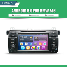 Android 6.0 Car DVD For BMW E46 car multimedia android Radio Stereo GPS Navigation Quad Core Bluetooth WIFI Radio EW801P6QH