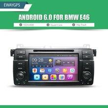 Android 6.0 Автомобильный DVD Для BMW E46 автомобильный мультимедийный android Радио Стерео Навигации GPS Quad Core Bluetooth WI-FI Радио EW801P6QH