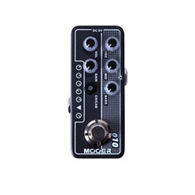 лучшая цена Two Stone Delay and reverb effects Guitar pedal Independent 3 band EQ Gain and Volume controls Guitar pedal MOOER knob Mooer 010