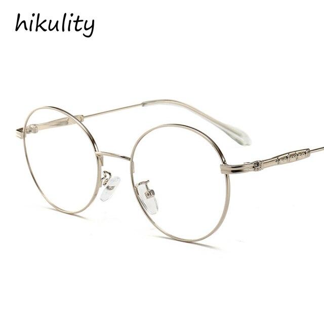 Luxury Vintage Oval Eyewear Frame Black Glasses Clear for Men ...