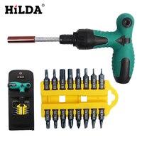 Hilda اسئلة 17 قطع المفك تعيين نوع وجع s2 بت متعددة الوظائف أداة اليد مجموعات توركس المفك بت المقبس أدوات إصلاح